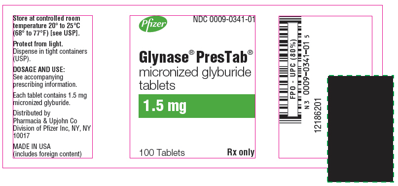 PRINCIPAL DISPLAY PANEL - 1.5 mg - 100 Tablet Bottle Label